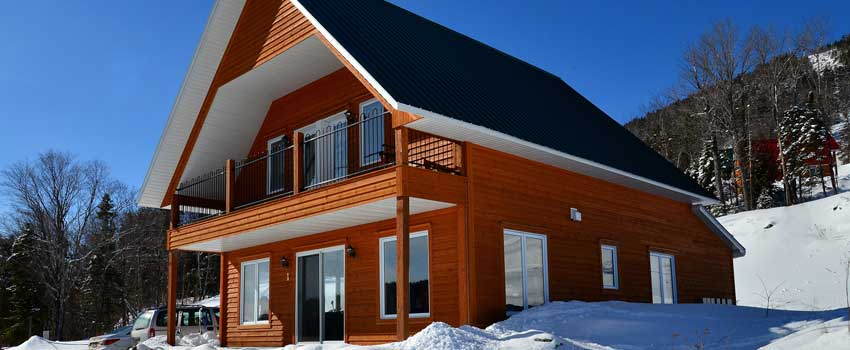 Imaginez et concevez un chalet contemporain for Chalet design contemporain